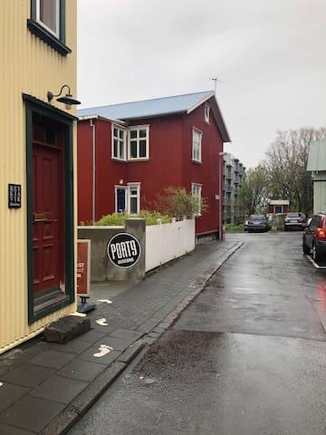 A cute HOME down town Reykjavík