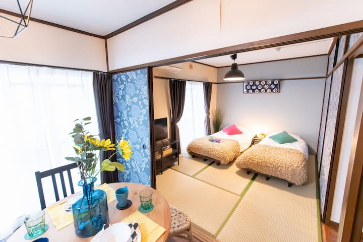Fantastic deal/Hakone 8mins walk/Great access/Wifi