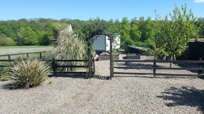 The Sheepwash Shepherds Hut