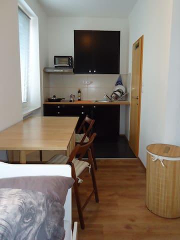 Klein und praktische Wohnung für Pendlern anderen - Wels - Appartement