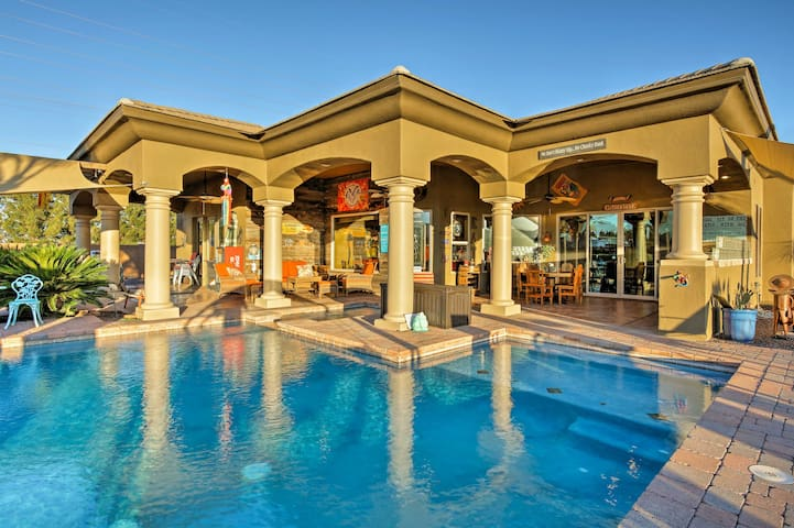 Litchfield Park Home w/Luxe Pool + Patio on 1 Acre