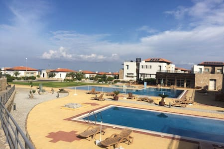 Sea view penthouse in beautiful place - Tatlısu - Appartement
