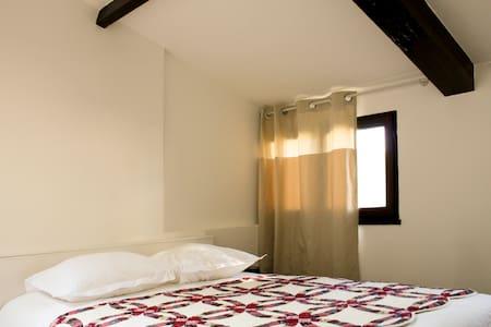 Chambre privée avec salle de bain proche Giverny 1 - Port-Villez - Hus