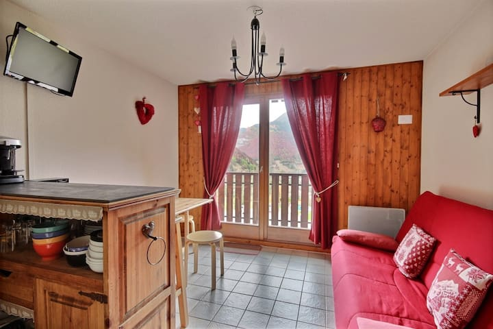STUDIO APARTMENTWITH MOUNTAIN VIEWS -SAINT JEAN D'AULPS SKI RESORT - 4 PEOPLE - PIED DES PISTES 20
