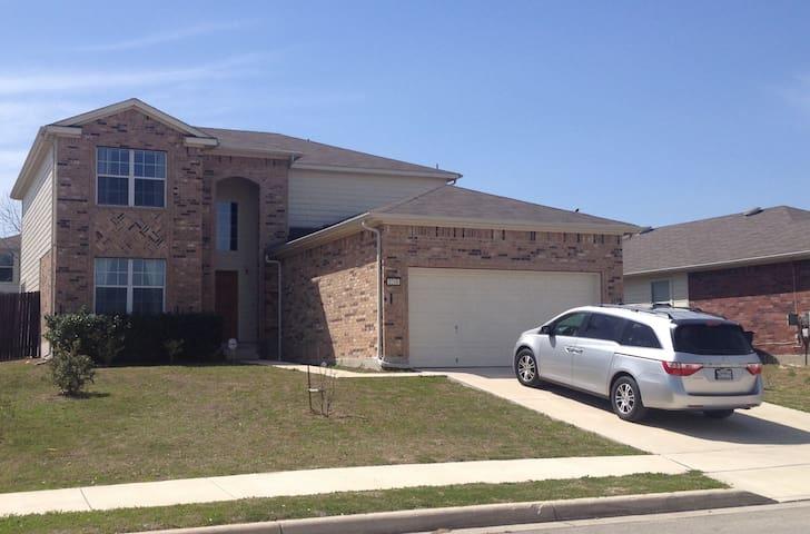 Beautiful Home close to San Antonio and San Marcos