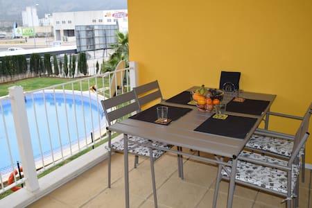 2 Zimmer-Apartment - bis zu 4 Personen (El Verger) - El Verger