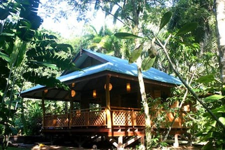 Charming Jungle Bungalow for two/Playa Cocles 5min - 利蒙(Limon) - 独立屋