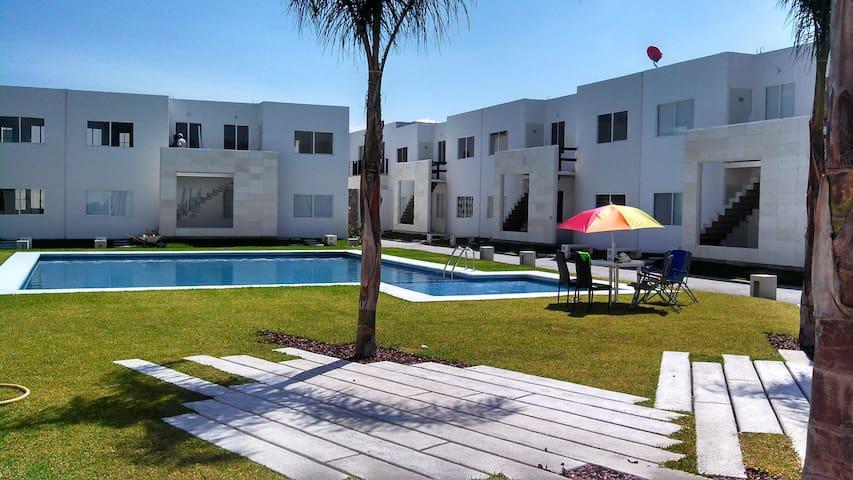 Hermoso departamento en Yautepec - Yautepec - Apartament