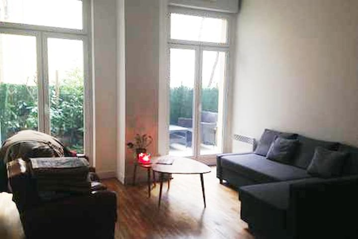 Bel appartement moderne idéalement situé