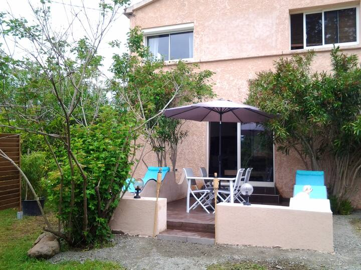 House with 2 bedrooms in Ghisonaccia, with private pool, enclosed garden and WiFi - 40 km from the slopes