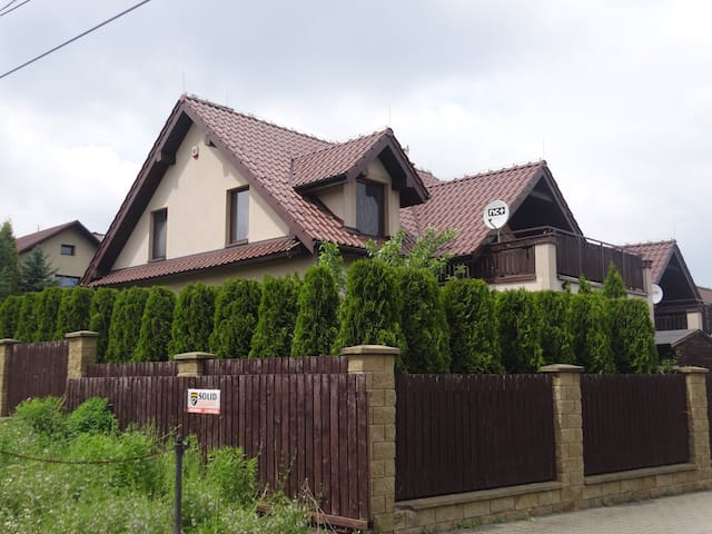 Lovely house just outside Kraków +gym membership