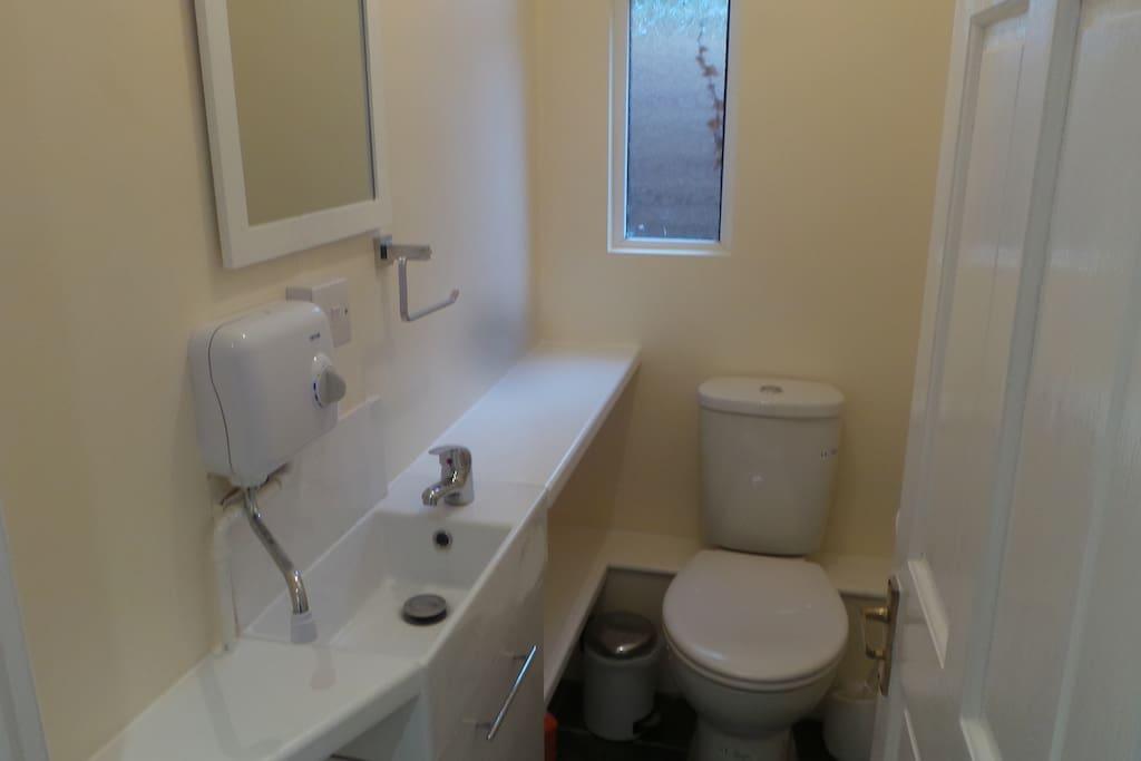 WC and washroom