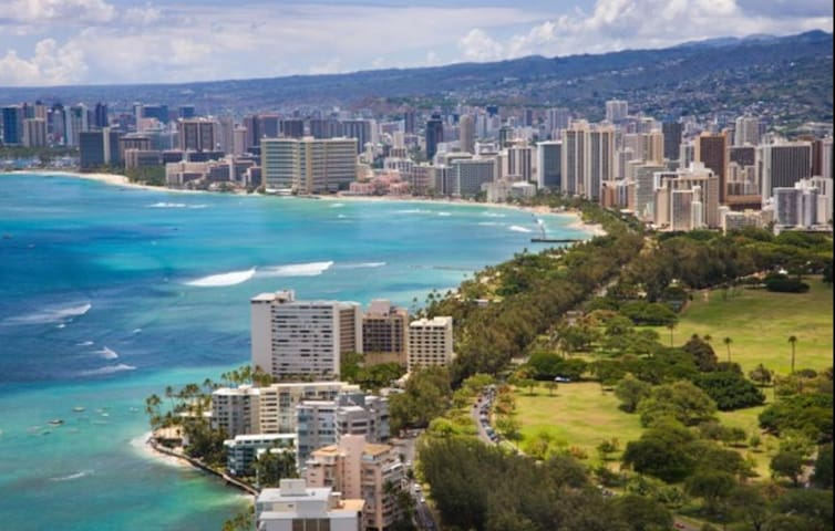 WAIKIKI CONDO WITH TWO QUEEN BEDS GREAT LOCATION