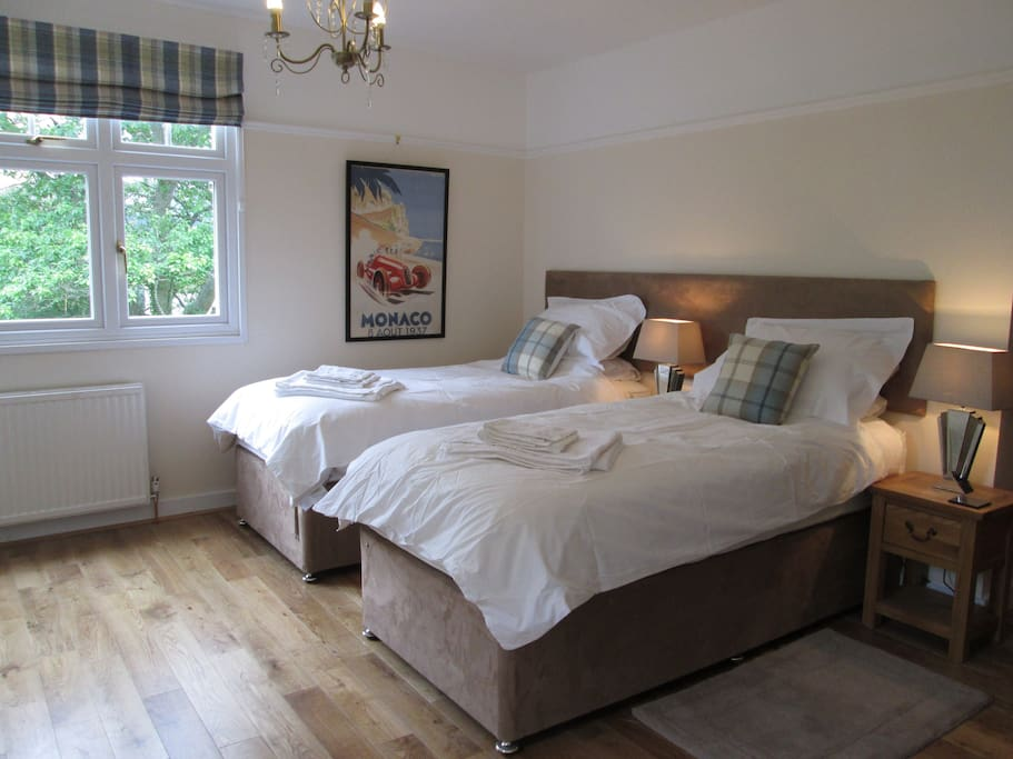 Choice of two single beds