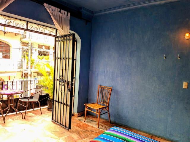 Casa Verónica: Habitación Azul.