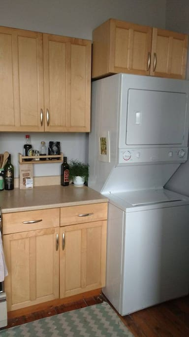 Kitchen and washer dryer