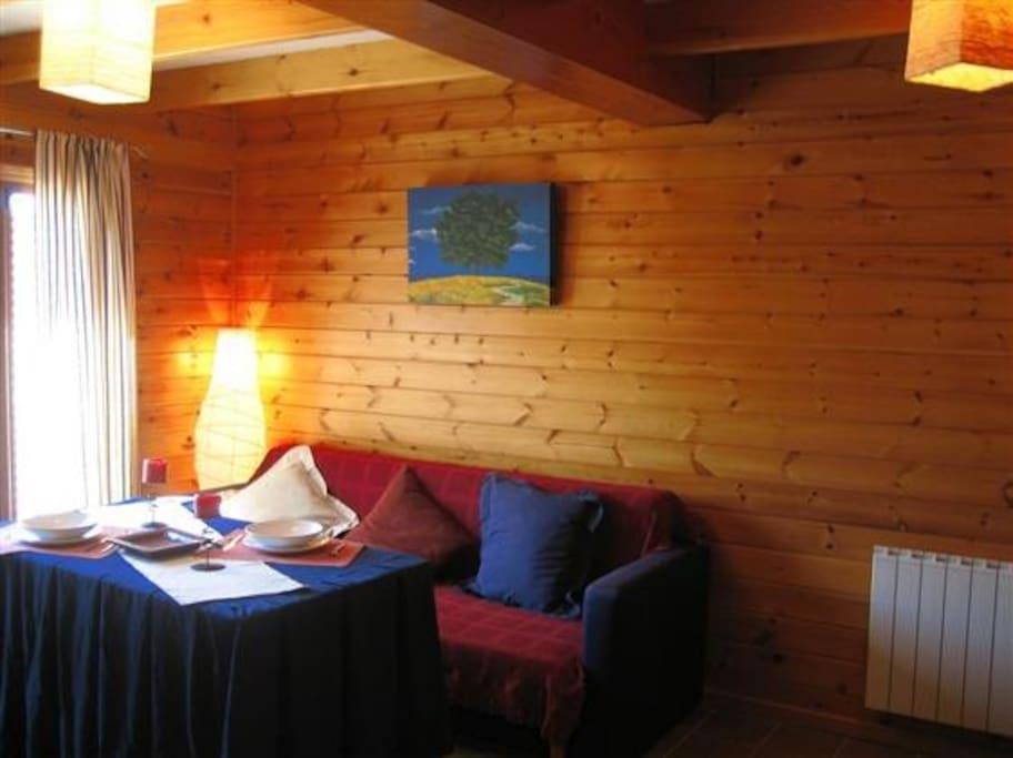 Casa de madera en sierra nevada cabins for rent in for Sierra nevada cabine