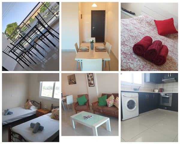 2 bedroom apartment in Kiti short drive from beach