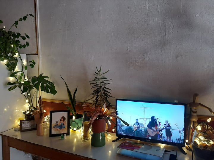 single room in artist studio