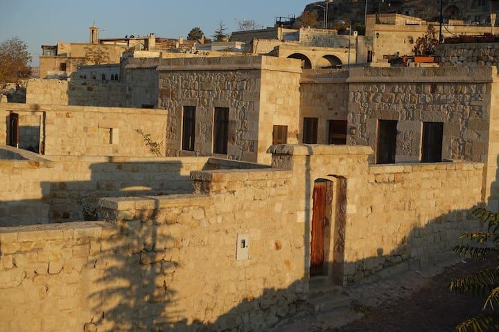 Mountain View Stone House in Cappadocia
