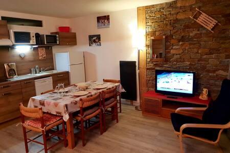 Joli appartement centré station rénové et équipé