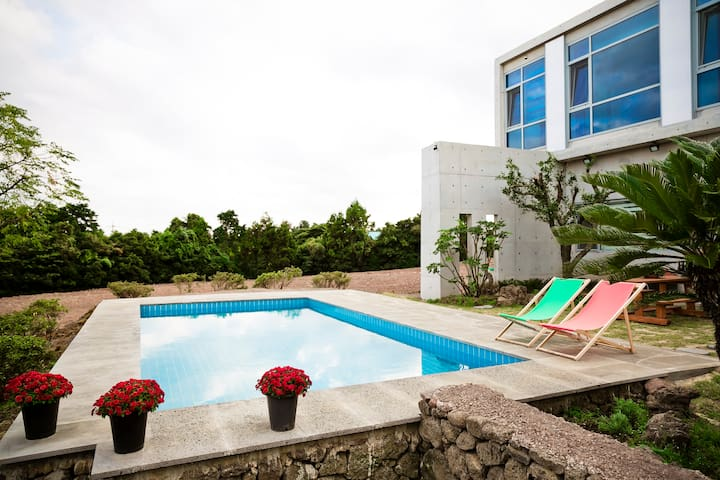 [Calm Autumn] Mint (Pool Side)-Color in Jeju