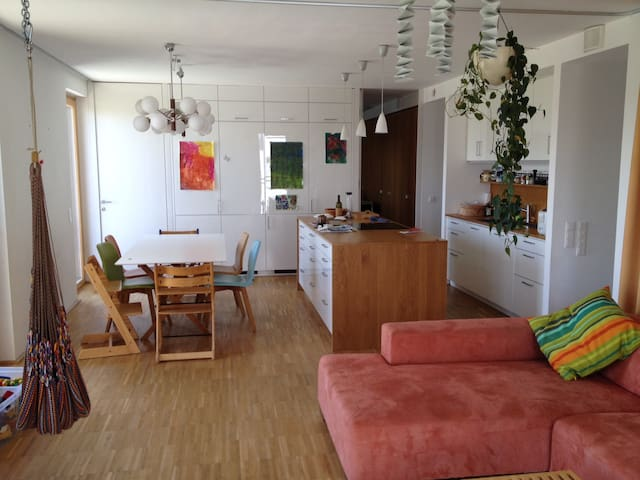 Sunny and big apartment in a very special house - Wien - Huoneisto