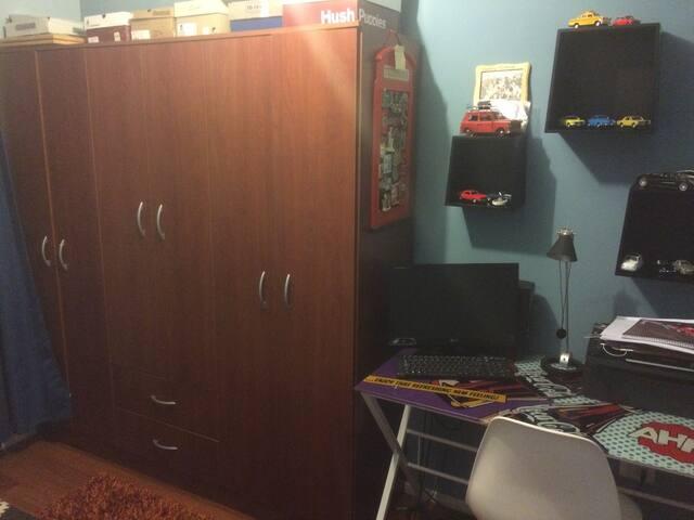 Arriendo dormitorio pequeño en acogedor ambiente - Quinta Normal - House