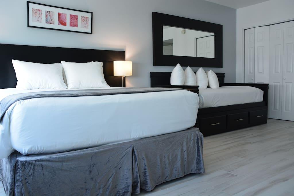 Comfortable mattresses