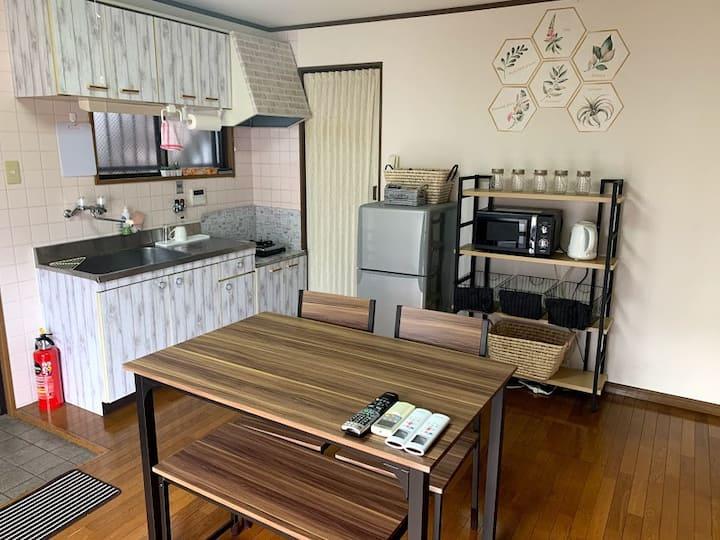 最大6名宿泊可能!神戸の中心の三宮まで近く観光・ビジネスに便利!!