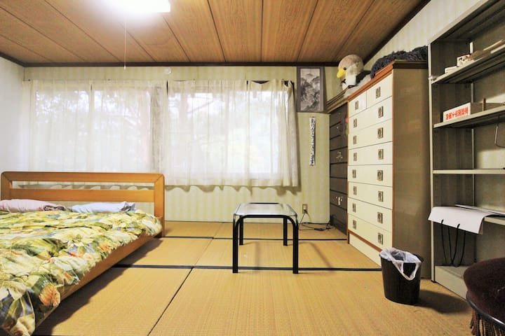 Room4★Hanabatake large old house TsuruokaSt15min