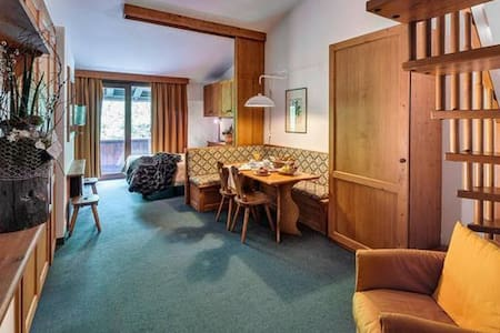 "4 Stars Hotel in Cortina d'Ampezzo ""304"" - Cortina d'Ampezzo - Apartmen perkhidmatan"