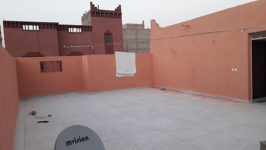 Le Maroc dans une autre vue - Ouarzazate - Pension