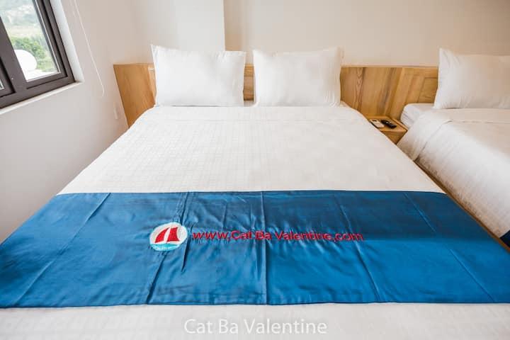 Standard Queen Room( Cat Ba Valentine Hotel)