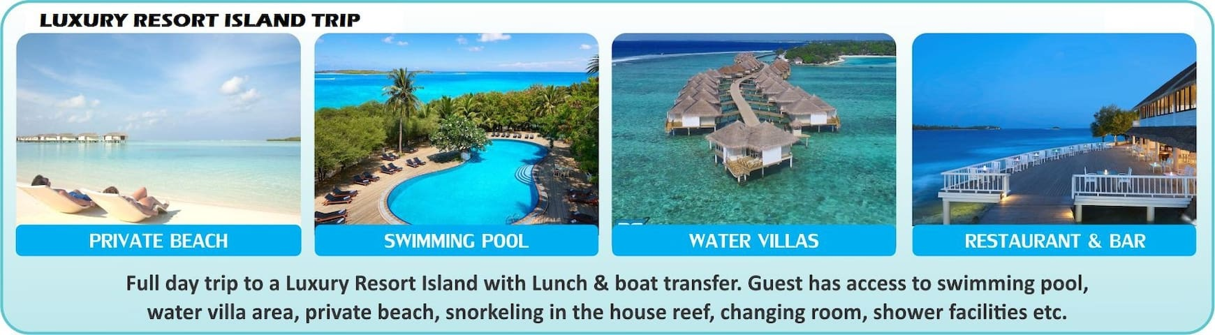 !! Stay + Sightseeing Package Maldives