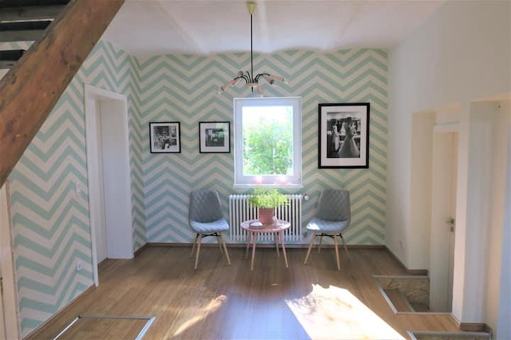 Top ausgestattetes Ferienhaus in der Havelregion