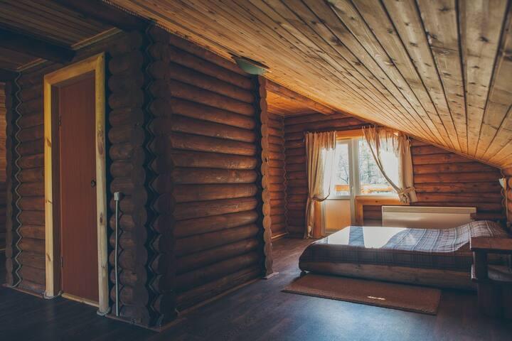 Большой номер в гостевом домике в Горном Алтае