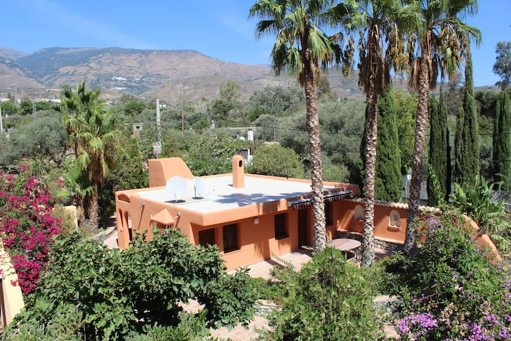 Alcazaba, tranquil oasis amidst dramatic mountains