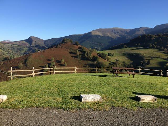 Gîte à la ferme au cœur des Pyrénées