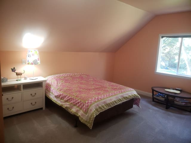 Entire Upstairs with 2 Beds and Full Bath