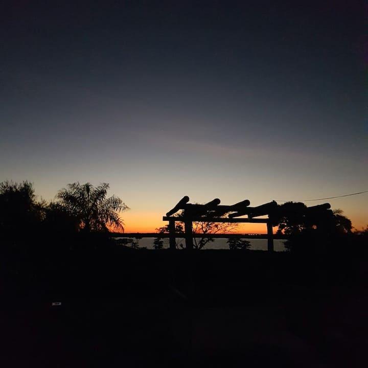 Paraíso na entrada do Pantanal