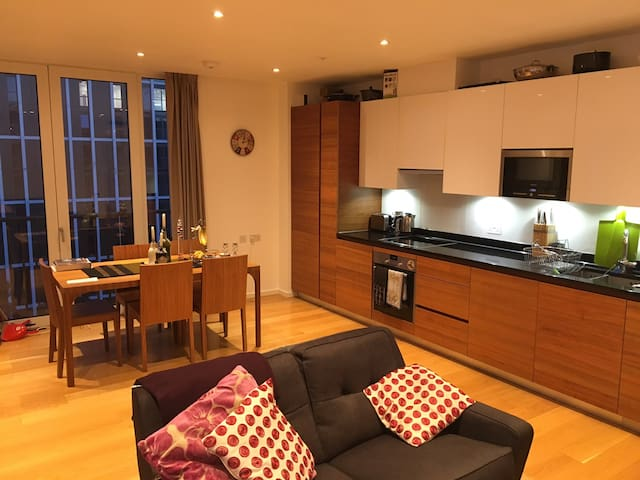 Cozy room in a 3-bed flat, EAST-CENTRAL LONDON