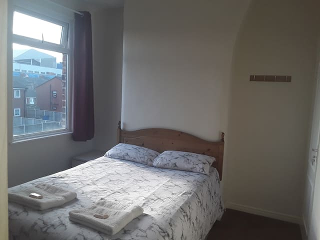 Double room in Liverpool