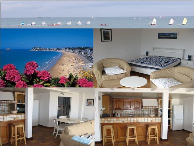 Appartement, vue sur mer imprenable