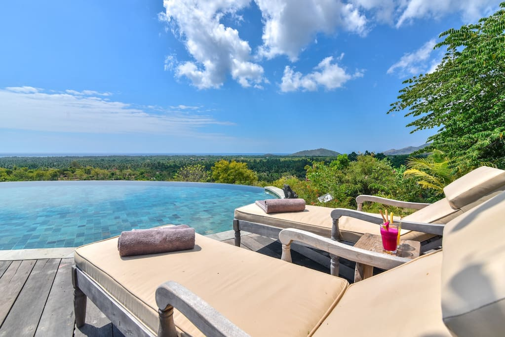 Beautiful views from your pool