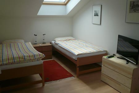Baselworld&City 18 Min.,private bath, top&cozy - Birsfelden - Bed & Breakfast
