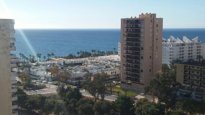 Loft con vistas al mar,piscina ,a 250 de la playa