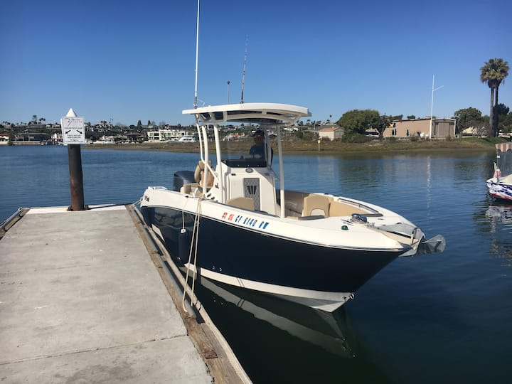2017 24.5ft Off Shore Center Console.