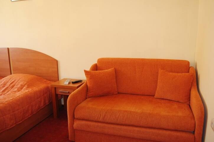 Villa Milano - Pokój 2-os Deluxe z łazienką (14)