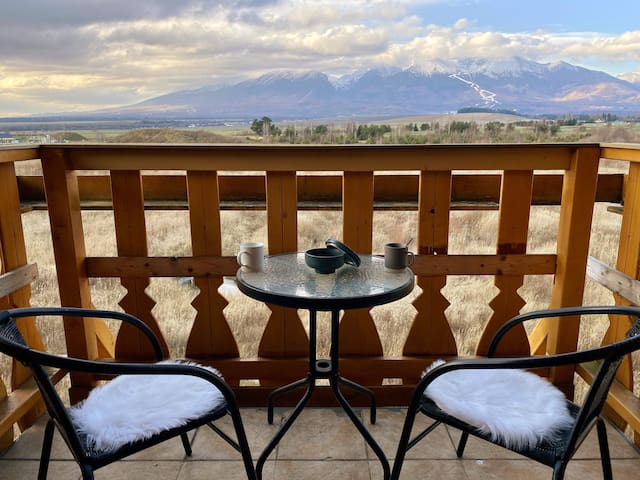 Apartment with beautiful view of High Tatras
